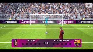 India fc and barcelona -