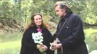 Johnny Cash & June Carter - Far Side Banks of  Jordan live