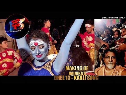 dhee 13 nainika performance making of kaali song / Shashi master choreography / Bhasker simon karmal