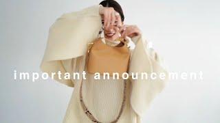 【重大発表】オンラインパーティー情報 + 12月アウターと新作紹介!