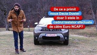 De ce a obtinut noua Dacia Duster doar trei stele Euro NCAP