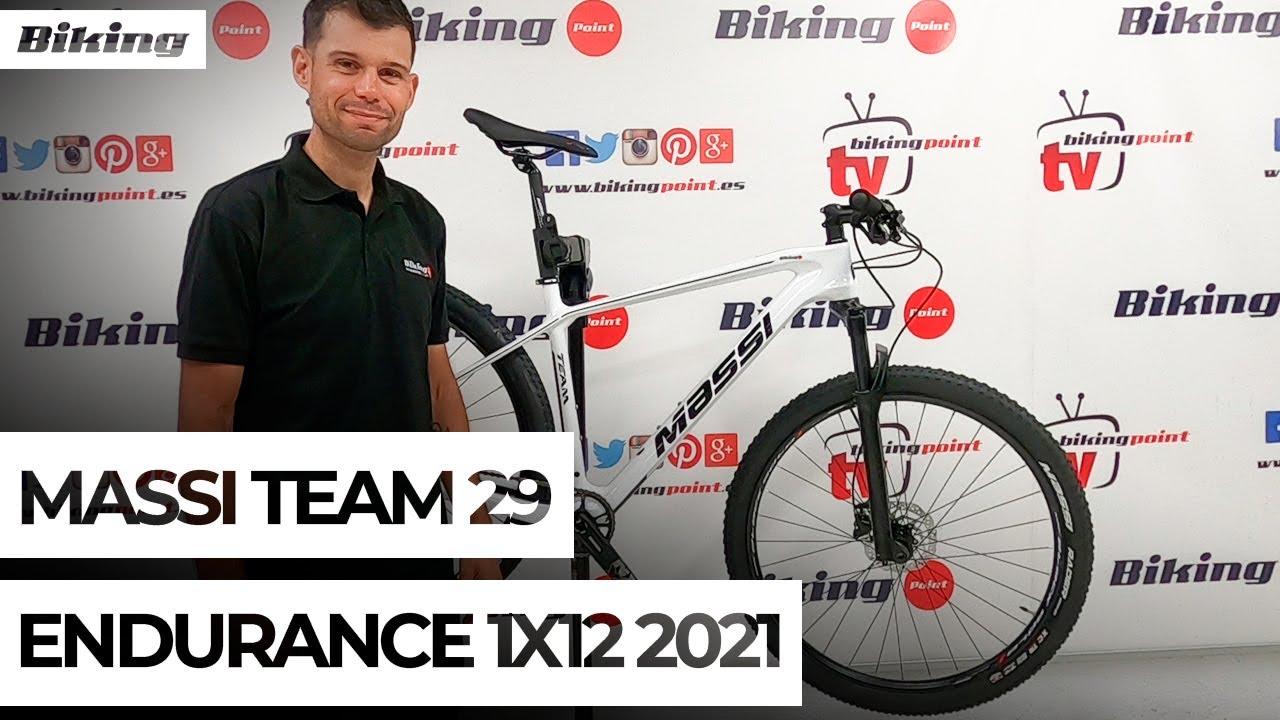 Bicicleta Massi Team 29 Endurance 1x12 2021 | Presentación