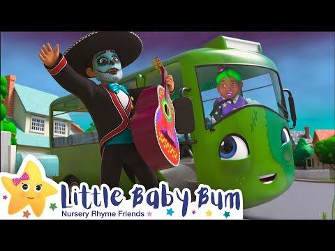 Wheels On The Bus Halloween + More Nursery Rhymes \u0026 Kids Songs - Little Baby Bum