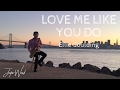 Download Justin Ward - Love Me Like You Do (Ellie Goulding Cover) MP3 song and Music Video