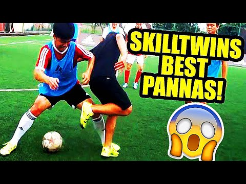 The BEST Street Football/Futsal/Freestyle & Panna Skills EVER!! by SkillTwins