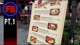 NEW MENU at Red Rose Tavern for breakfast - Captain Hook encounter | 02/10/18 pt 1 [4K]