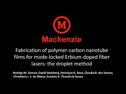Fabrication of polymer-carbon nanotube films for mode-locked Erbium-doped fiber lasers