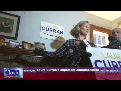 Laura Curran, Nassau Legislature  announces run for County Executive