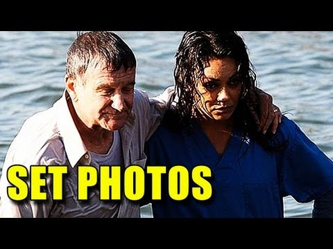 The Angriest Man in Brooklyn Set Photos (2013) - Robin Williams, Mila Kunis