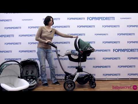 Обзор по коляске Foppapedretti Myo Tronic Travel 3 в 1