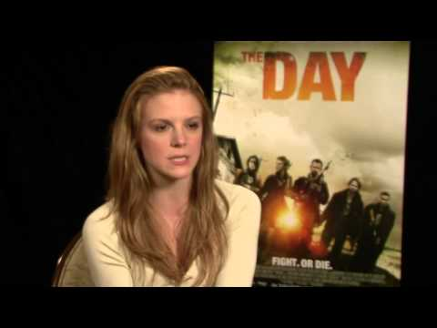 "Ashley Bell ""The Day"" Interview [HD]"
