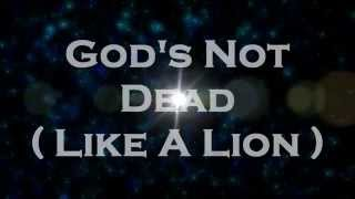 Baixar God's Not Dead - Newsboys | Lyrics (HD) | LyricalHub