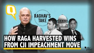 5 Reasons Why CJI Impeachment Move is Politically Savvy