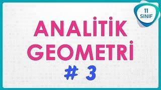 Analitik Geometri 3  Doğru Parçasını Belli Oranda Bölme  11. Sınıf 11sınıf