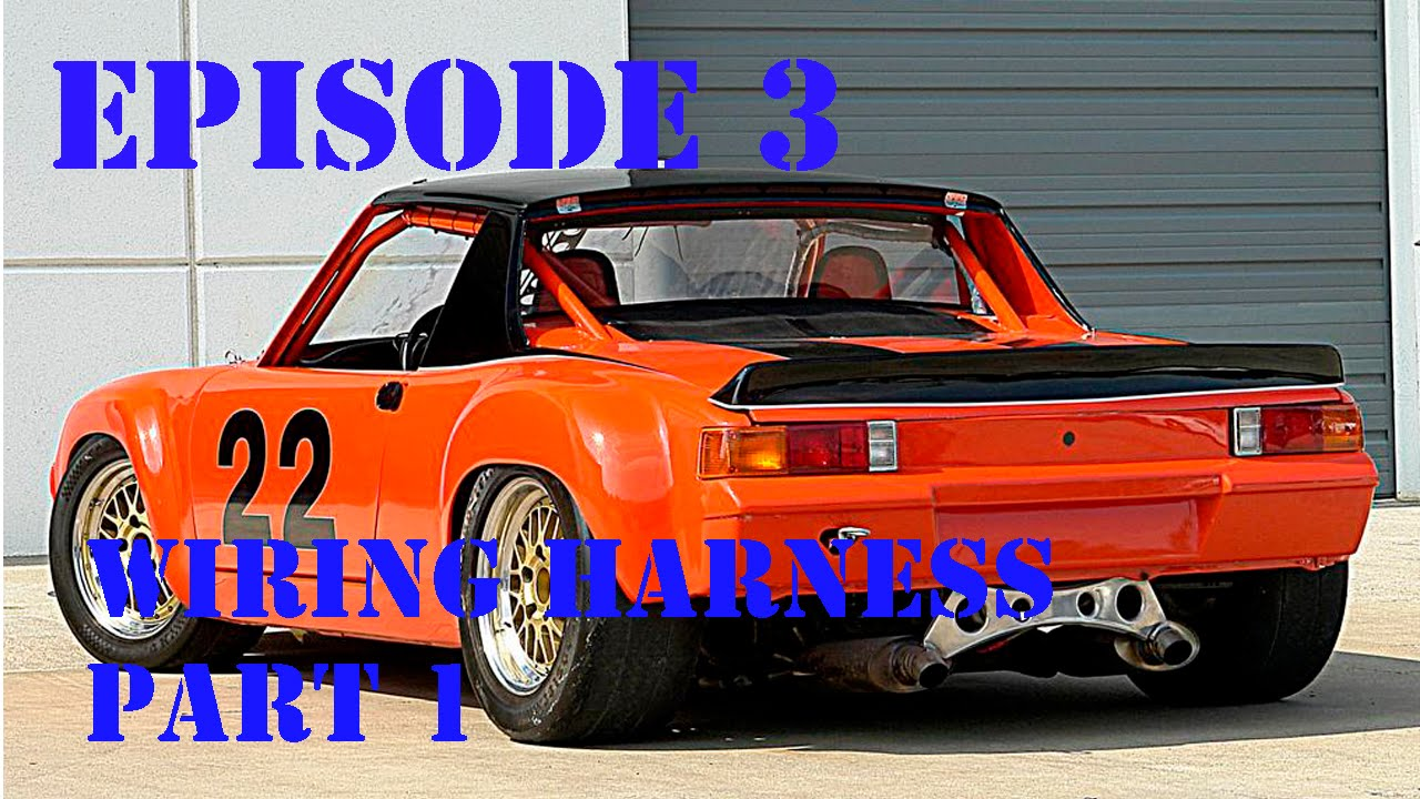 Project 914 Episode 3:Wiring Harness Part 1 - YouTube on kia spectra wiring harness, buick skylark wiring harness, pontiac bonneville wiring harness, amc amx wiring harness, saab 900 wiring harness, porsche 944 wiring harness, volvo 1800 wiring harness, porsche 914-6, porsche wiring diagrams, mercedes e320 wiring harness, model a wiring harness, engine wiring harness, jaguar e-type wiring harness, acura legend wiring harness, honda nsx wiring harness, mazda rx7 wiring harness, datsun 510 wiring harness, bmw 2002 wiring harness, volkswagen type 3 wiring harness, pontiac grand am wiring harness,