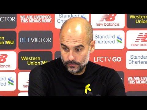 Liverpool 0-0 Manchester City - Pep Guardiola Full Post Match Press Conference - Premier League
