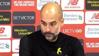 Liverpool 0-0 Manchester City - Pep Guardiola Full Post Match Press Conference - Premier League