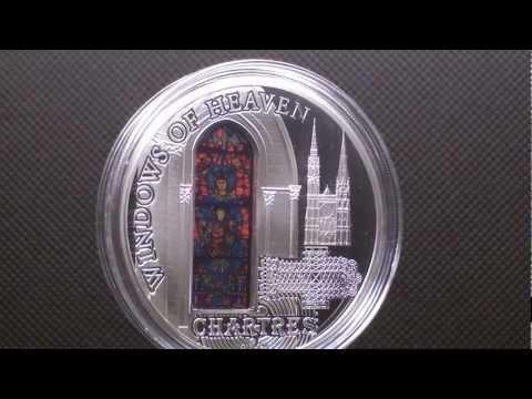COOK ISLANDS 2013 - $10 Windows of Heaven Chartres