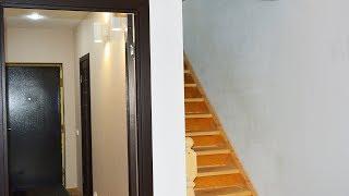 Ремонт дома в деревне Итог ремонта гардеробной под лесенкой Деревенский строитель