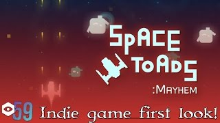 Insomnia 59 - Indie game zone - Space Toads: Mayhem - First Look!