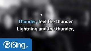 Imagine Dragons - Thunder (karaoke iSing)