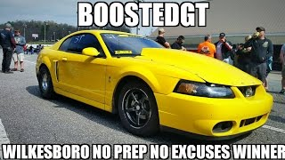 BoostedGT Wins 'No Prep No Excuses' Small Tire Class at Wilkesboro!!!!