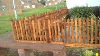 Bespoke Picket Fence Panels
