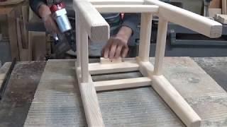 изготовление классического табурета(подробно)