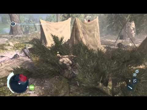 Assassin's Creed 3 - Clean & Timely Air Assassination of John Pitcairn