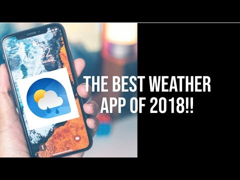 NEW Best Weather App For The IPhone | IOS 12 | 2018
