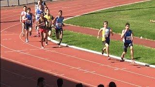 Des Minimes qui déchirent tout - 1000m Minimes - Championnat-Mai 2016