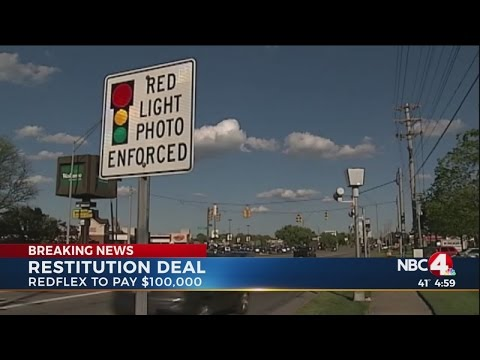 Redflex agrees to pay Columbus $100,000 in restitution