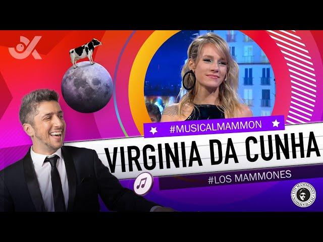 Virginia Da Cunha y Jey Mammón en el ⭐ #ShowMusical🔥 - #LosMammones