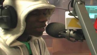 Tinchy Stryder, Fuda Guy & Wax bars on the Logan Sama show: 24/11/08 Part 1/3 (HD)