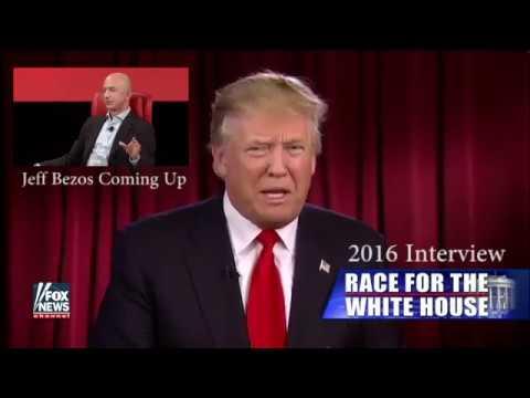 LEAKED:  CIA $600 Million Amazon Contract - Trump/Bezos