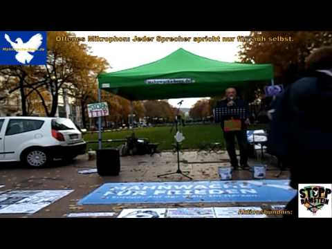Mahnwache Bonn   10 24 2015   1 von 6   Flüchtlinge, BND, NSA, Psyche