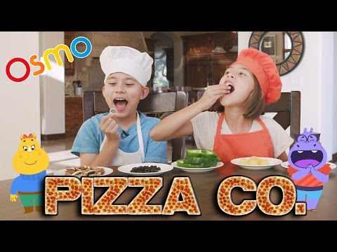 Thumbnail: PIZZA TOPPING CHALLENGE!!! Fun with OSMO PIZZA CO. Interactive Game!