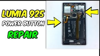 Lumia 925 Power Button and Battery Replacement