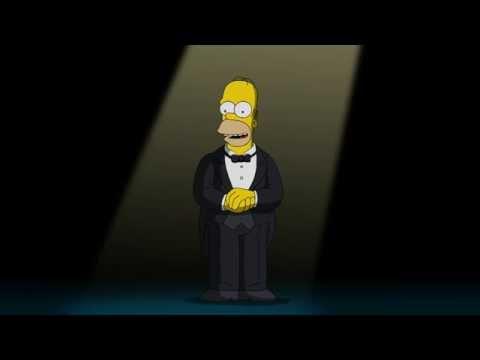 Homer Simpson introduces James L. Brooks's Career Achievement Award