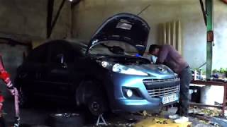 Engine Repair / Remplacement Moteur Peugeot 207 1.6 HDi 112 9HR FOMOCO