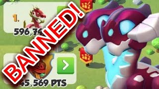DML CHEATERS BANNED! Clan Event Cheaters PUNISHED! - Dragon Mania Legends #495