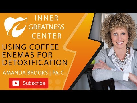 Are you open to using coffee enemas for detoxification?