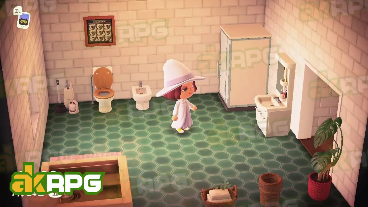 Acnh Bathroom Design Best Animal Crossing Interior Design Ideas Akrpg Com Youtube