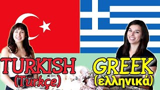 Similarities Between Greek and Turkish