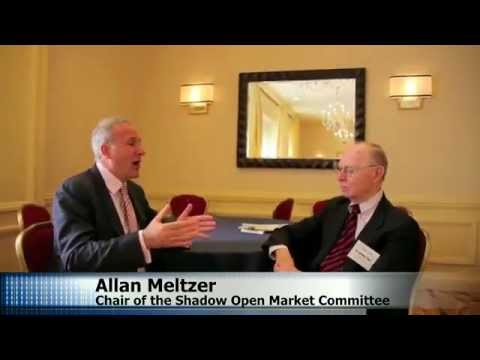 Peter Schiff's exclusive interview with Allan Meltzer at The Atlantic Economy Summit