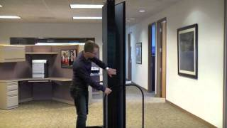 Screenflex Room Divider Installation