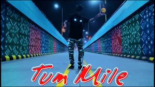 Tum Mile | Freestyle Popping (Mix) | Rahul Ahir The Robot.