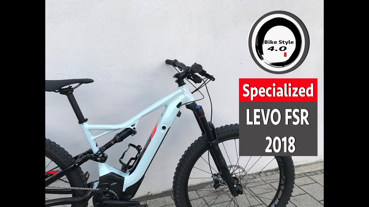 2815264d27d Specialized 2018 Turbo Levo FSR Light blue / Red | Waooz.com