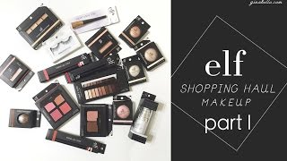 elf cosmetics 美國平價彩妝購物分享 上 飾底乳 遮瑕盤 單色眼影