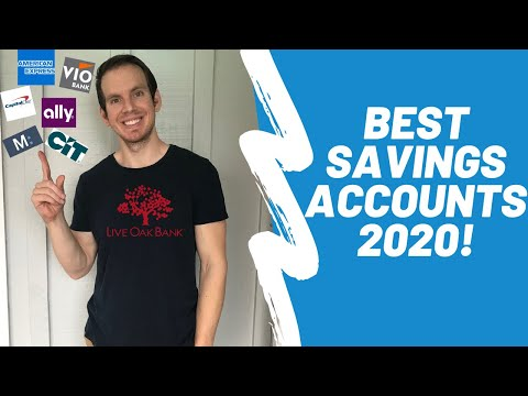 Best Savings Accounts In 2020 | BEST High Yield Savings Accounts Banks For PASSIVE INCOME